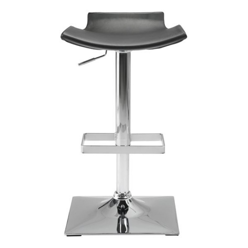 High stool chair front view