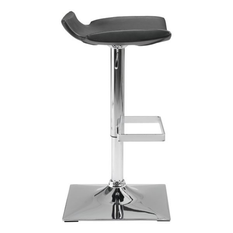High stool chair side view