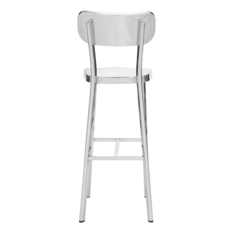 High stools with back back view