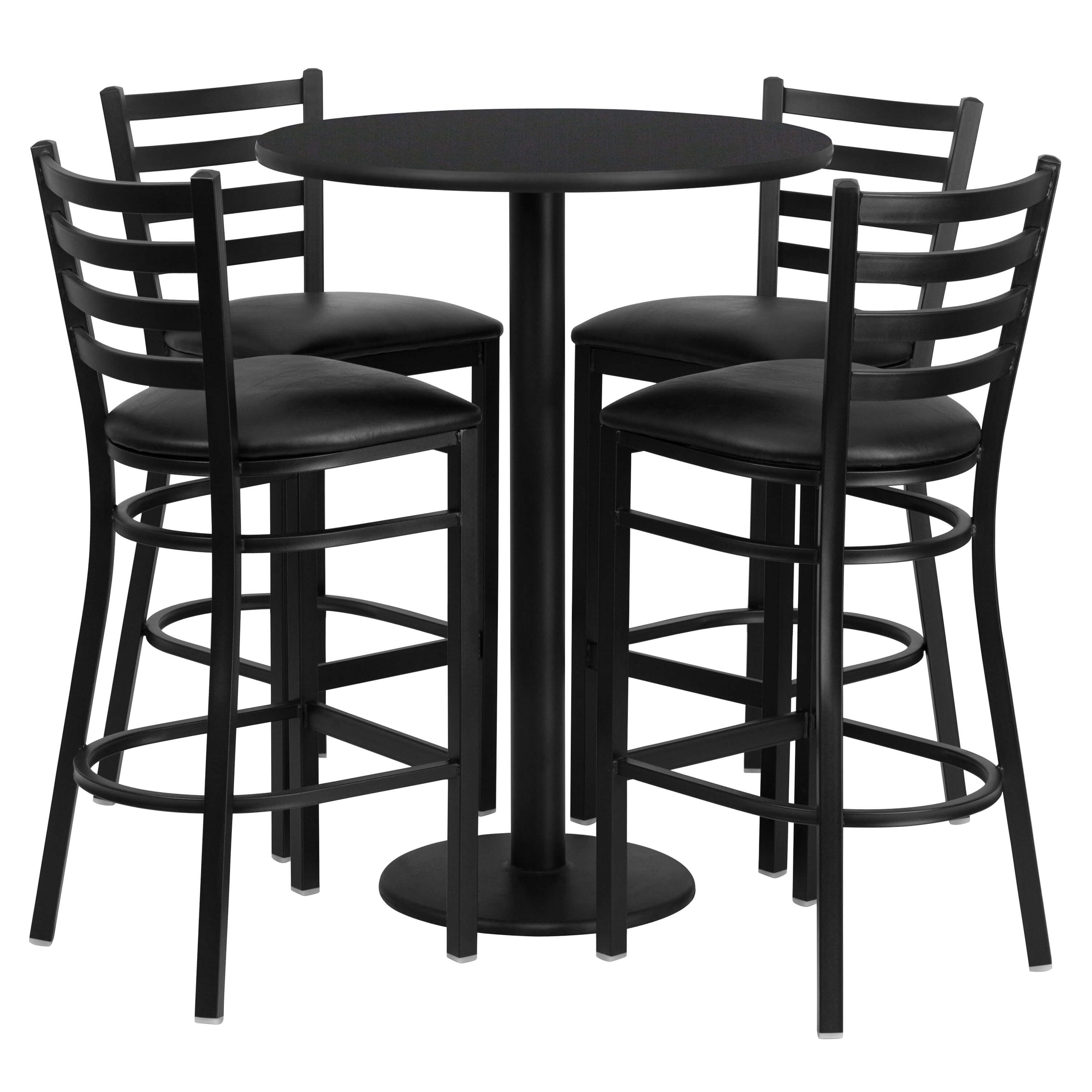 High top table set CUB RSRB1021 GG FLA
