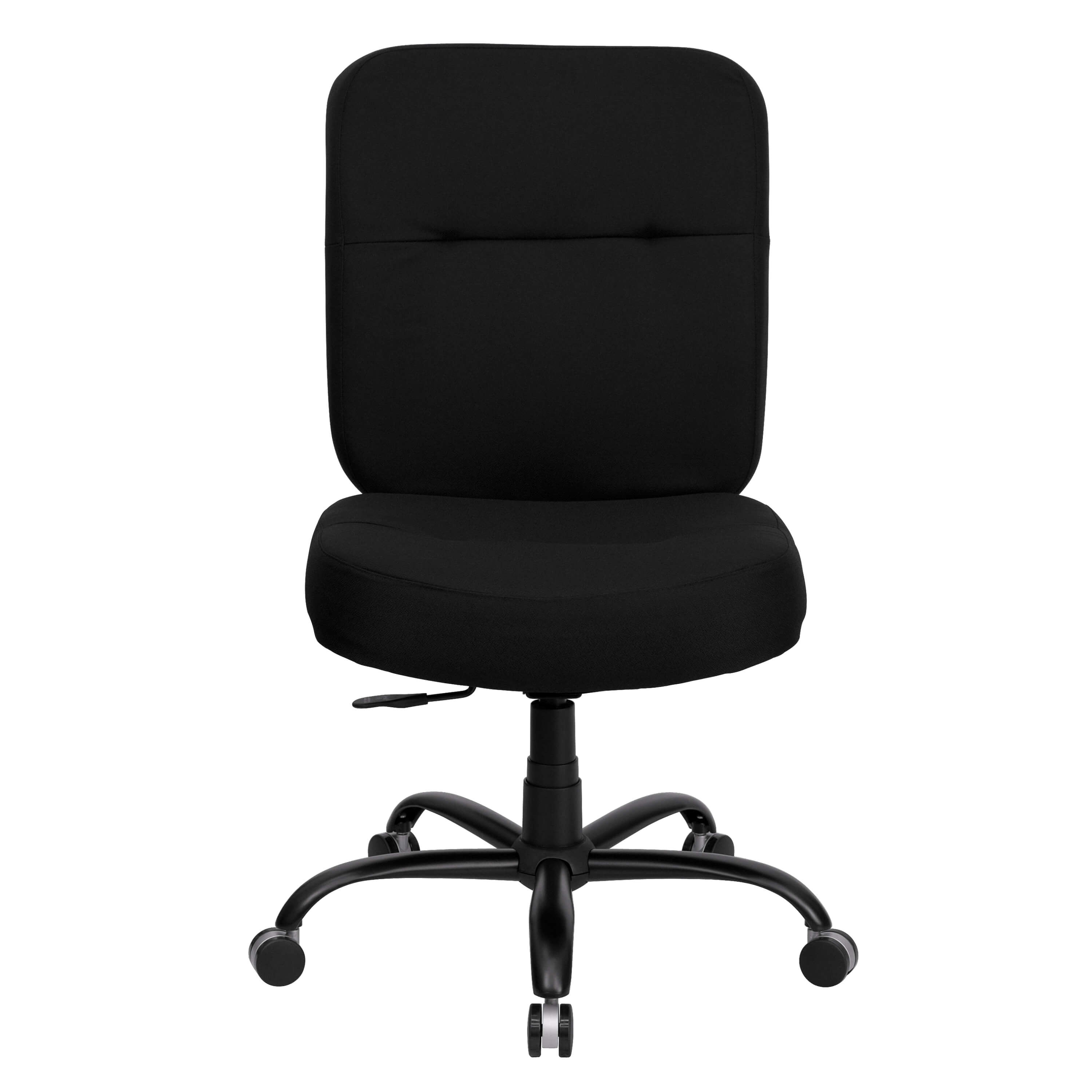 High weight capacity office chair front view