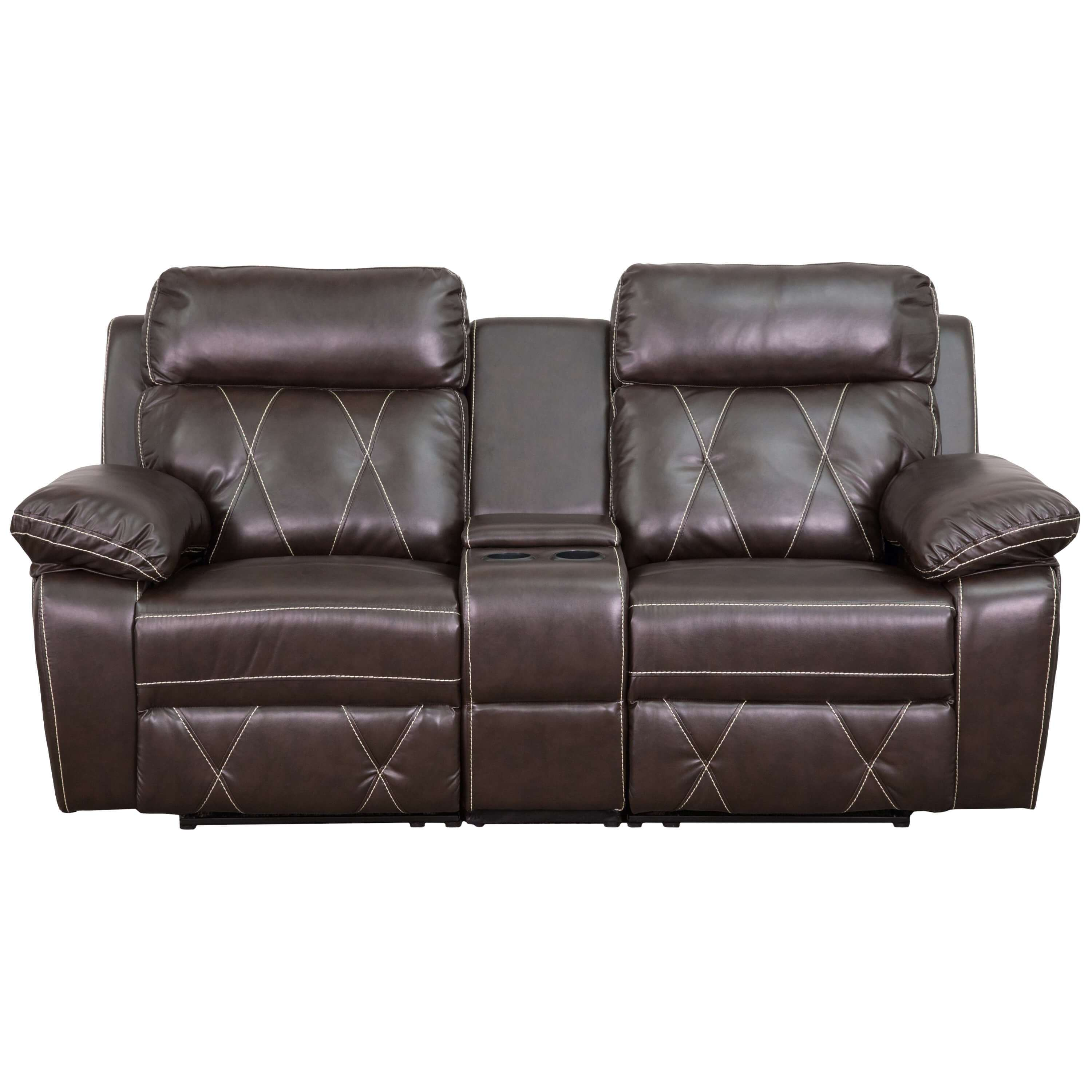 Home theater recliners CUB BT 70530 2 BRN GG FLA