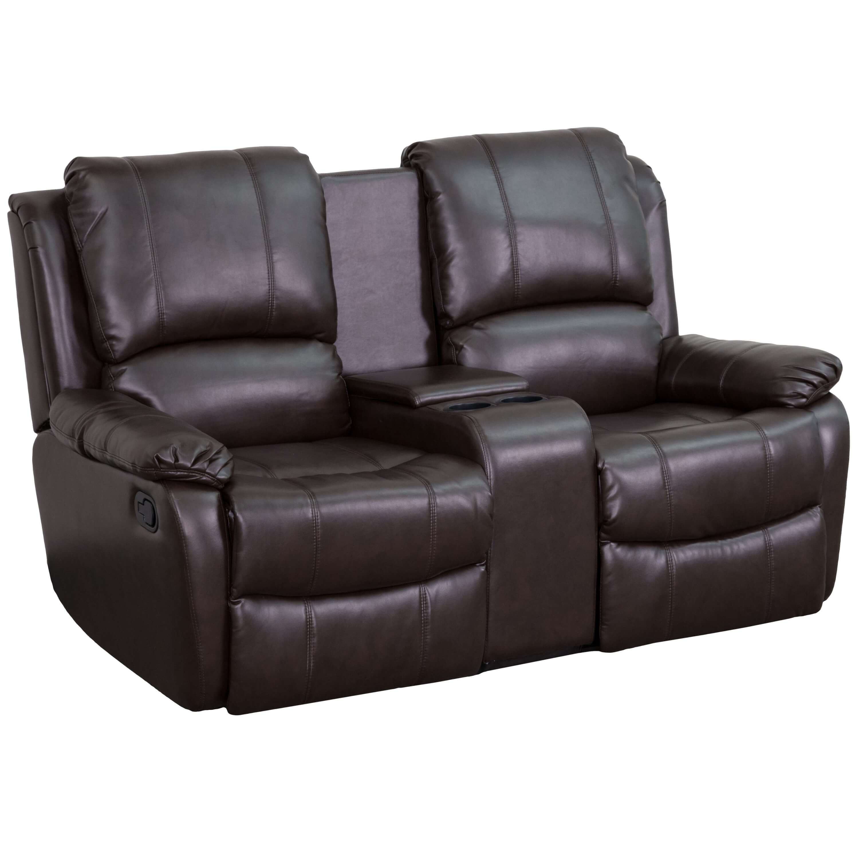 Charmant Home Theatre Seating Recliner Chair With Cup Holder