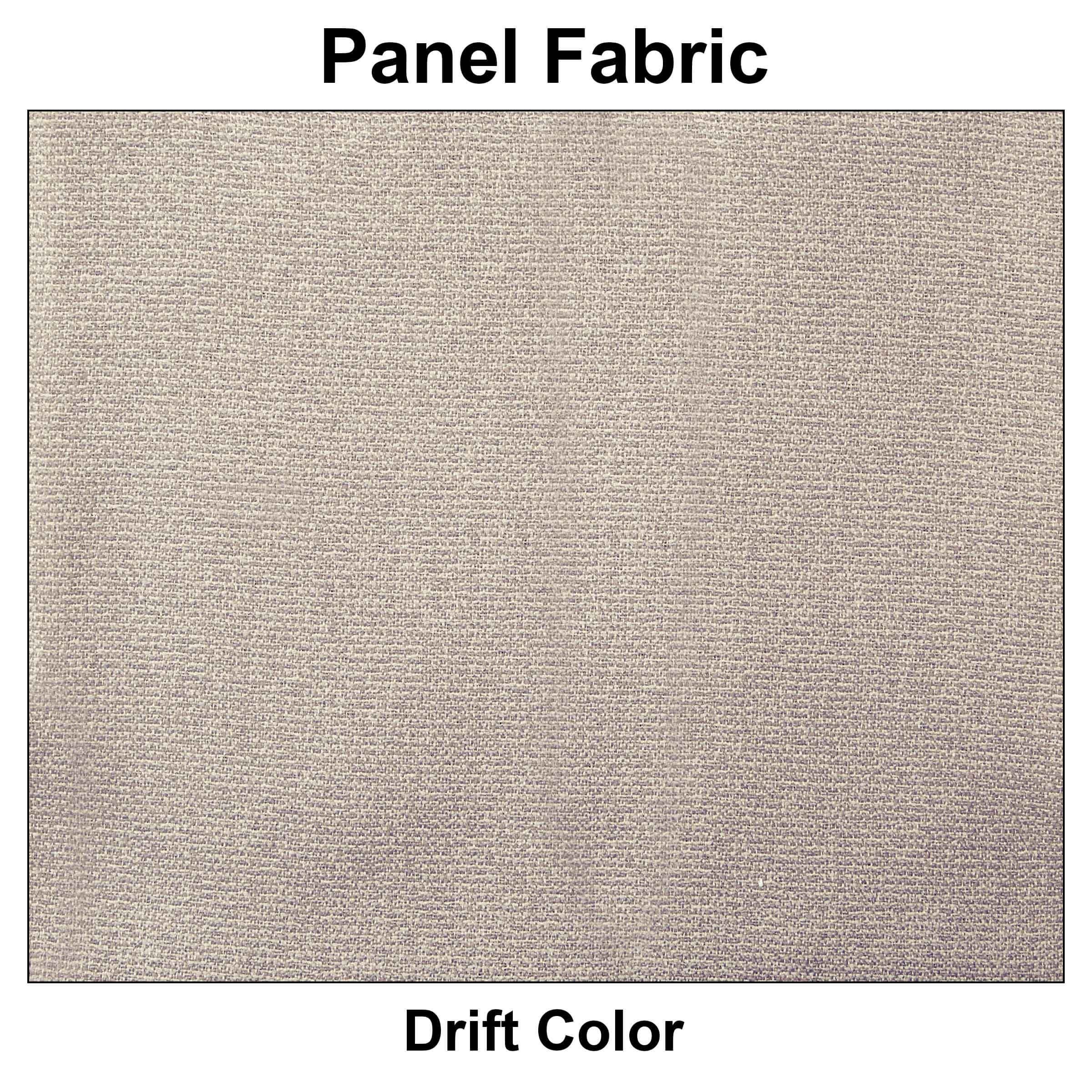 Hoteling workstations single fabric color