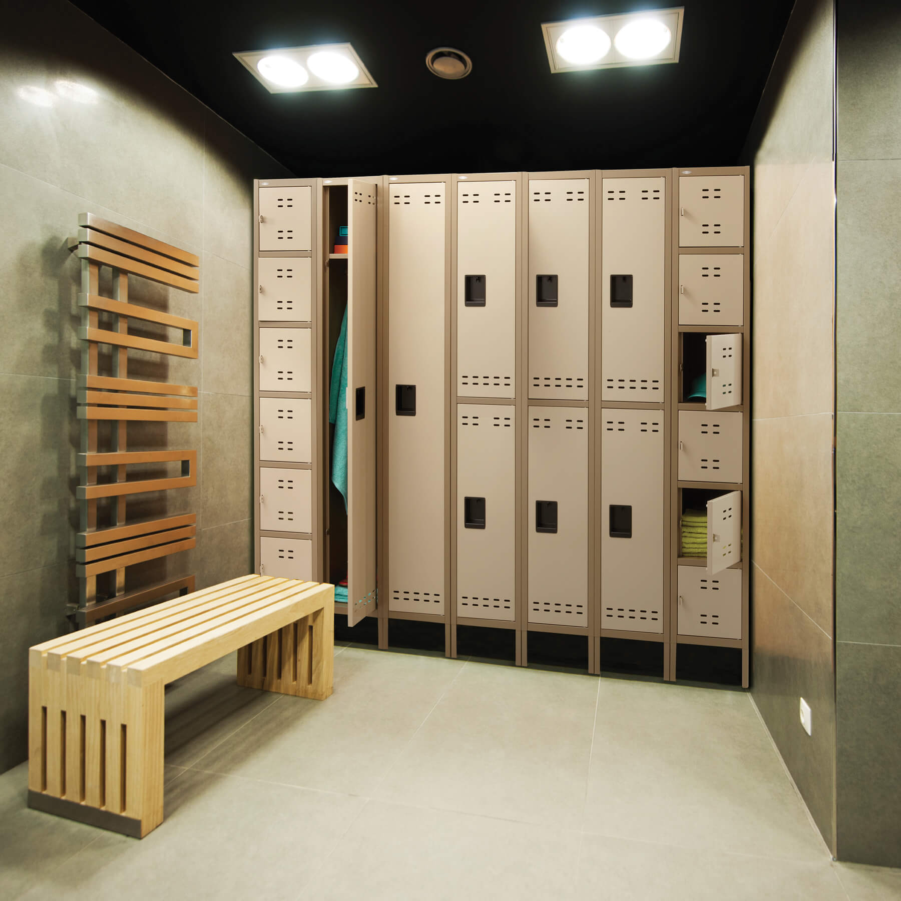 Industrial lockers environmental