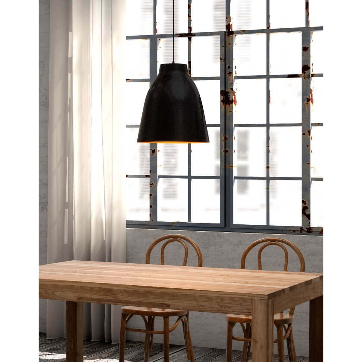 Industrial pendant light environmental view