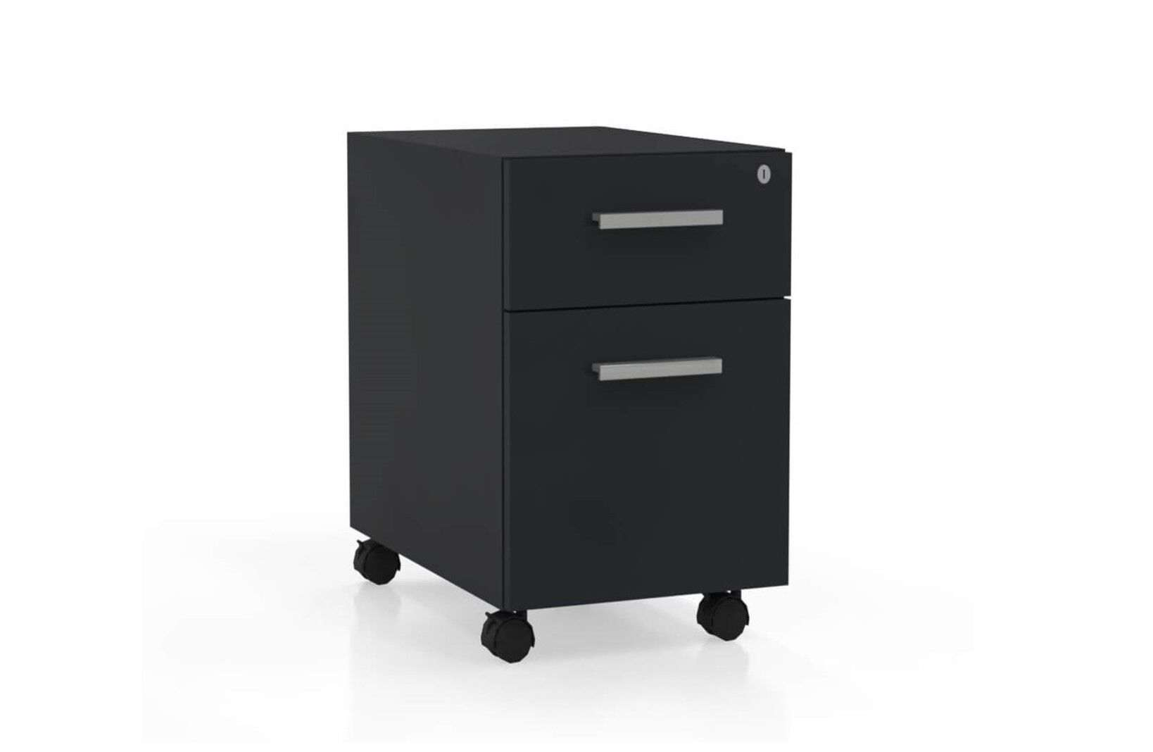L shaped desk with filing cabinet metal pedestal raven_preview