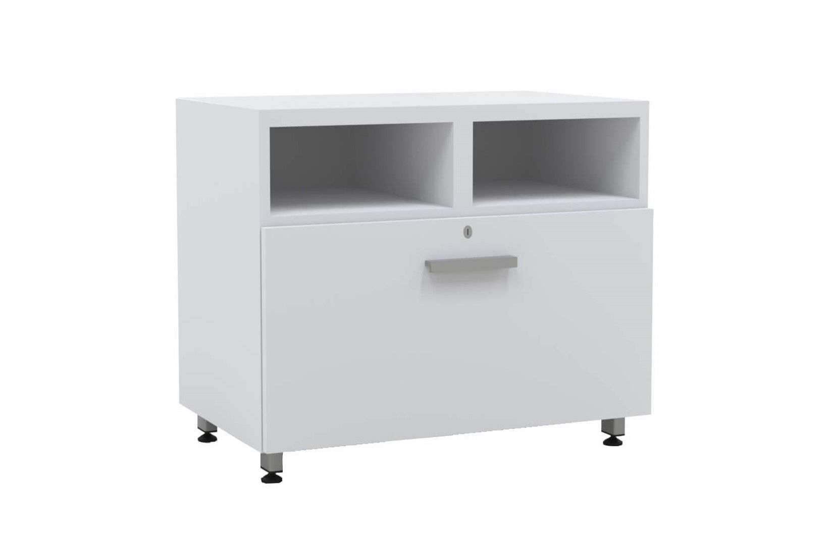 L shaped modern desk lateral file white_preview