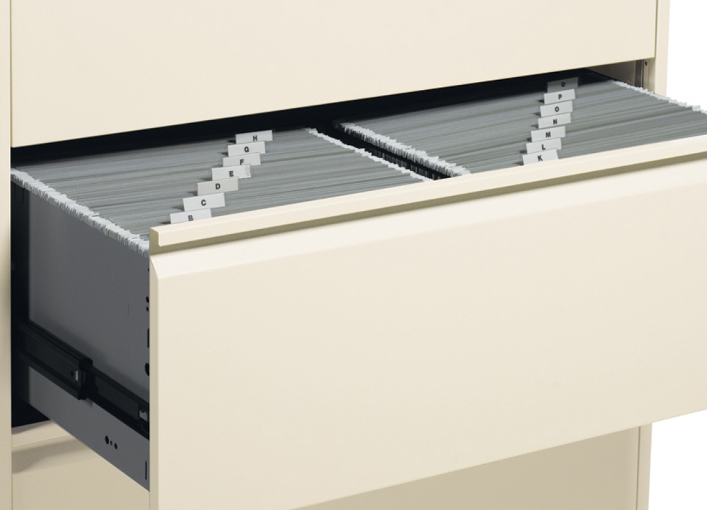 Lateral filing cabinets hanging file bars