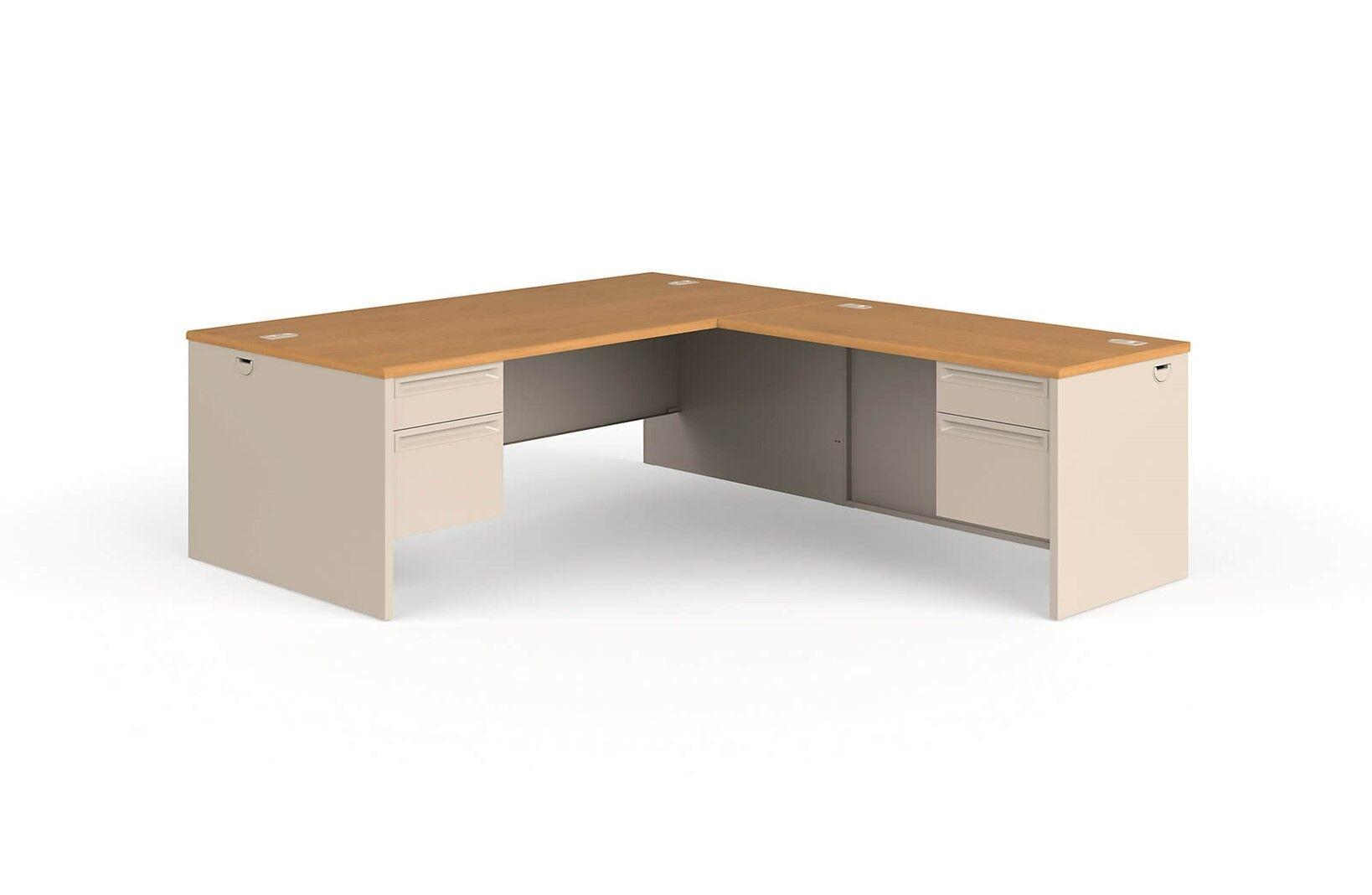 Picture of: Large L Shaped Desk Nelson Lefthand Corner L Shaped Desk 72 W X 84 D