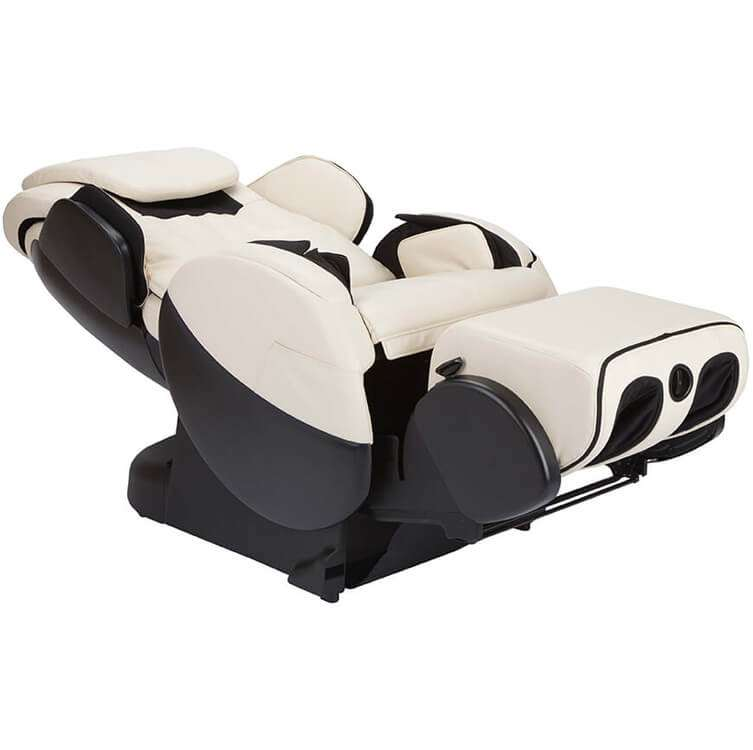 Massage chair recliner reclined view 1