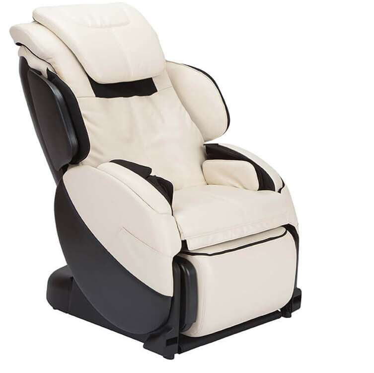 Massage chair recliner upright view