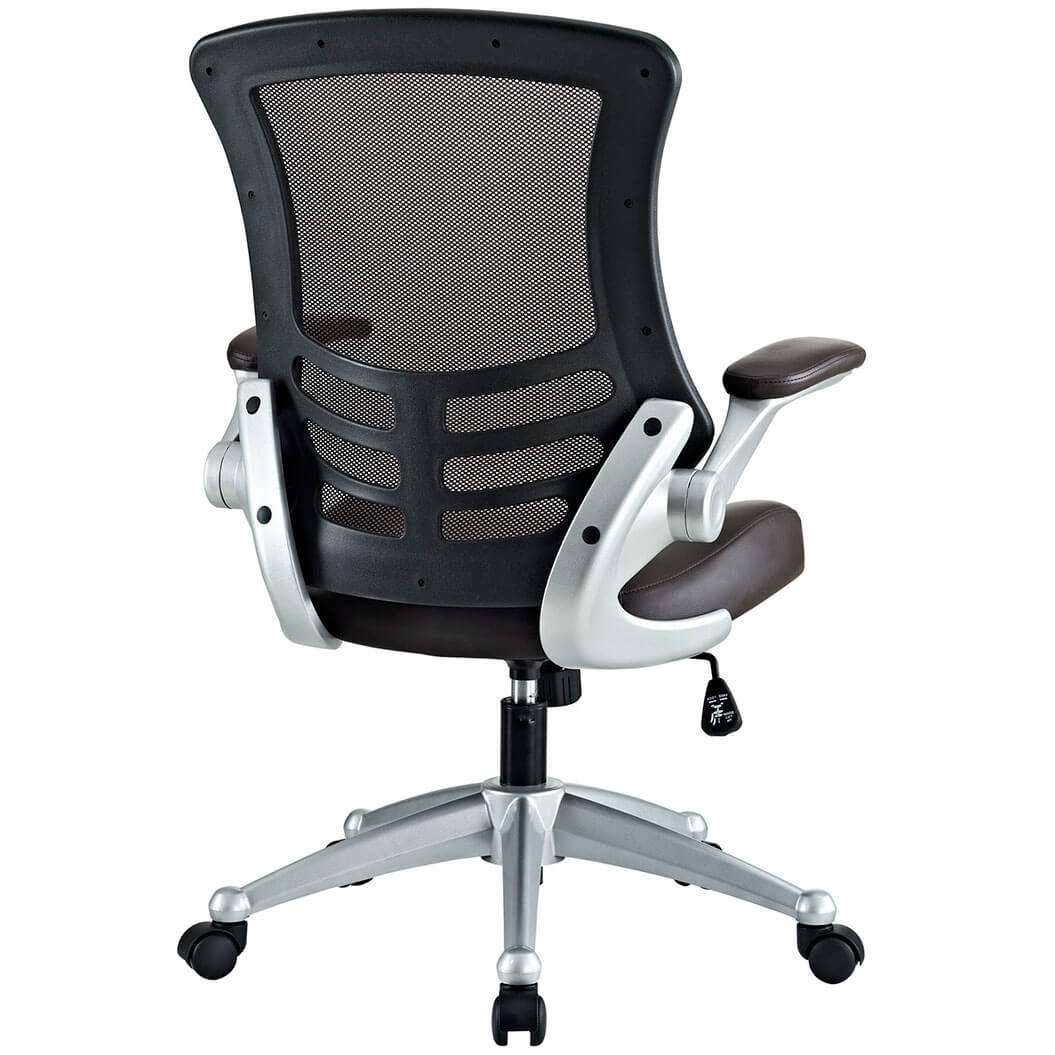 Mesh desk chairs rear view