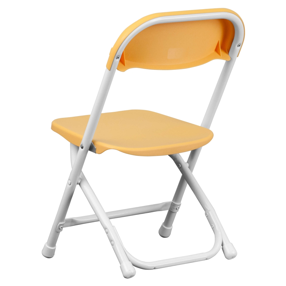 Mini folding chair rear view