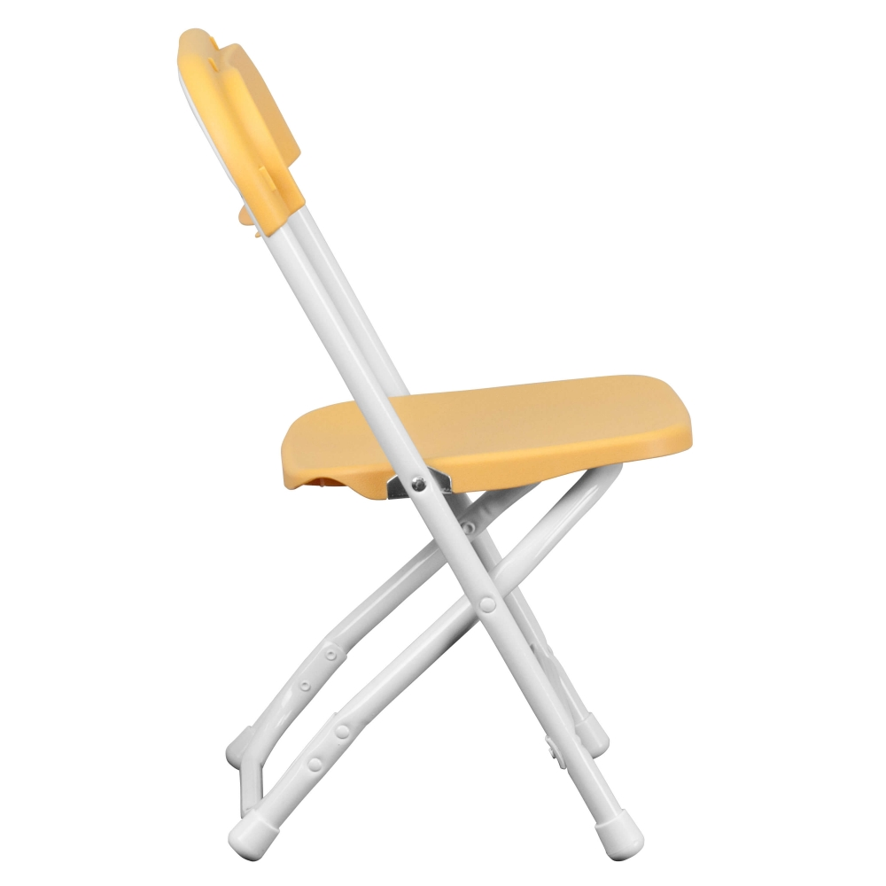 Mini folding chair side view