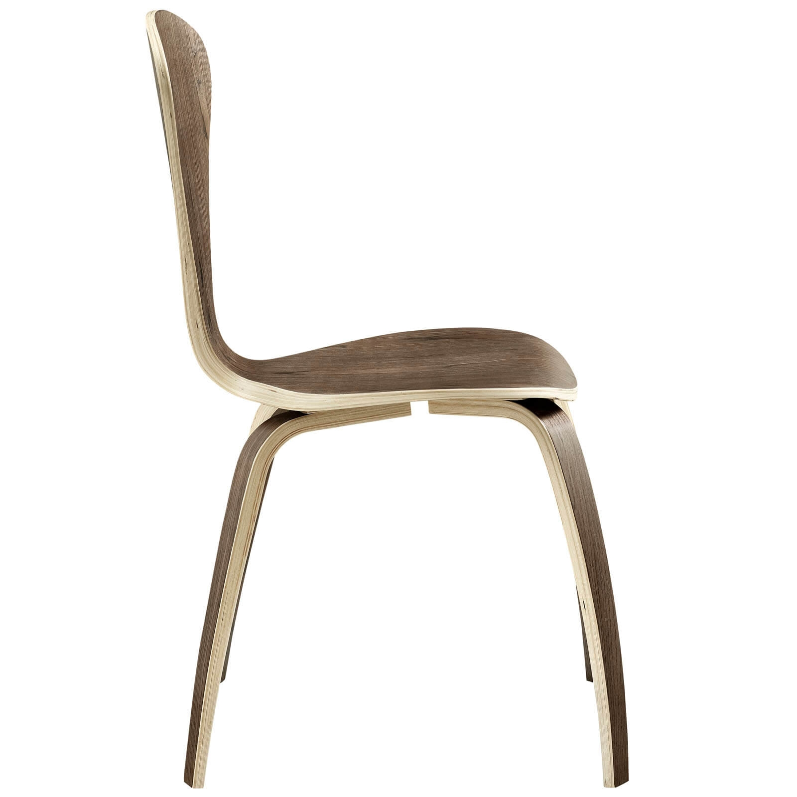Modern chair side view