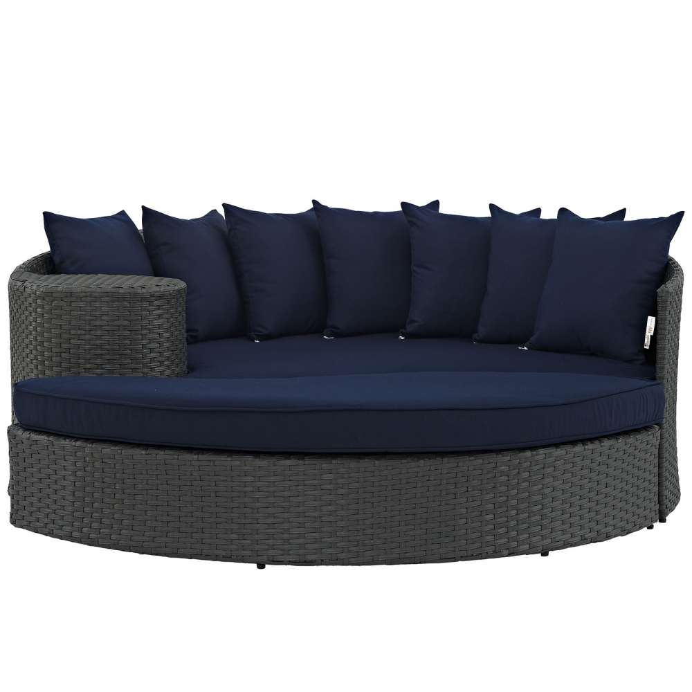 Modern daybed sofa front view