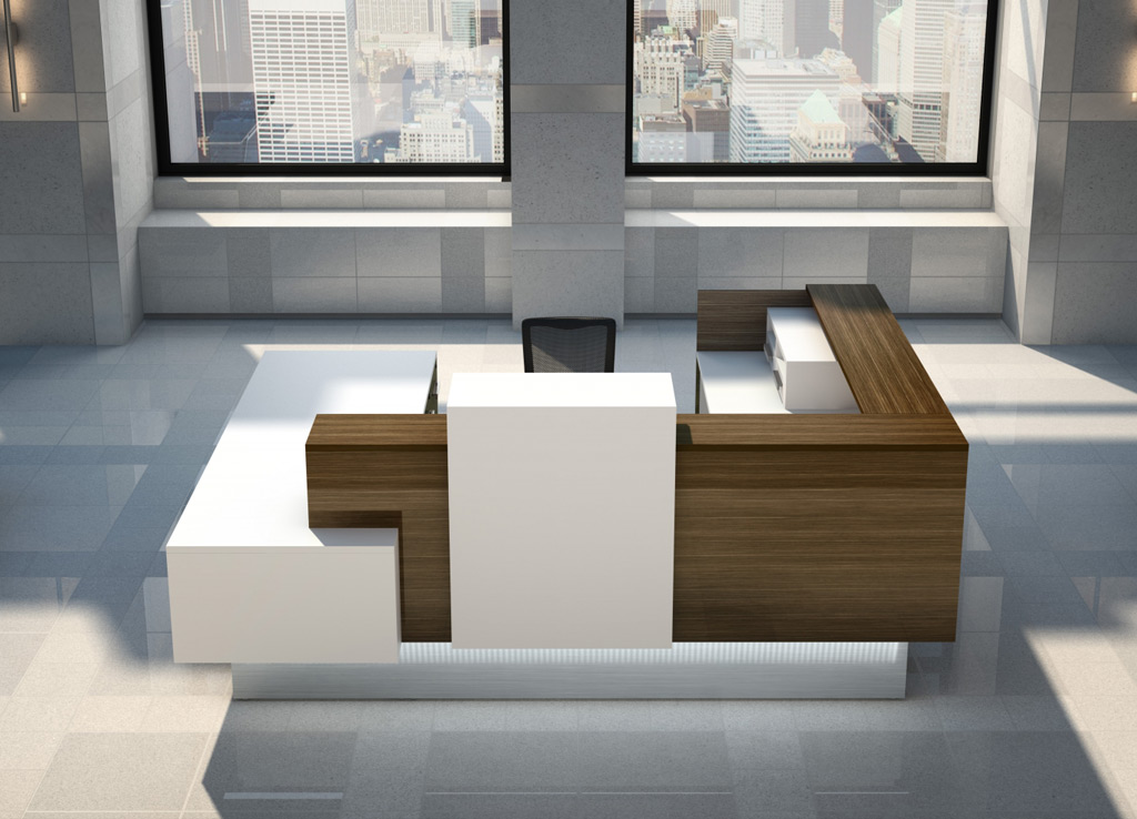 Custom Reception Desk Impress Inbox Modern Reception Desk
