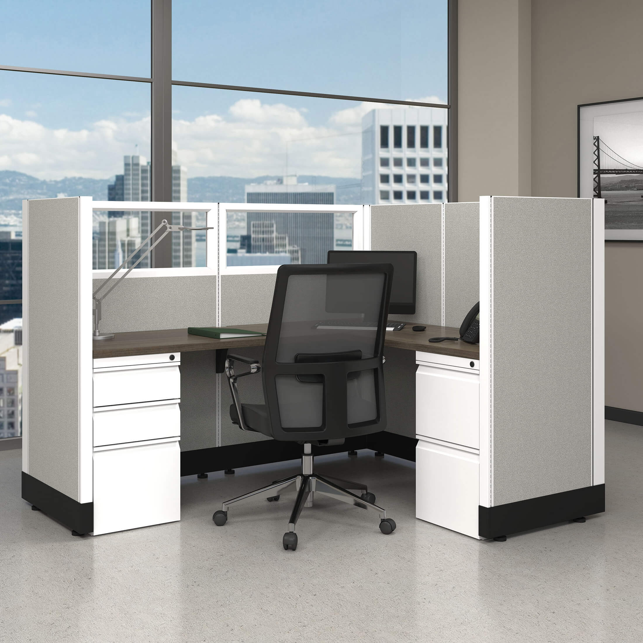 Modular Office Furniture Systems 53H Unpowered