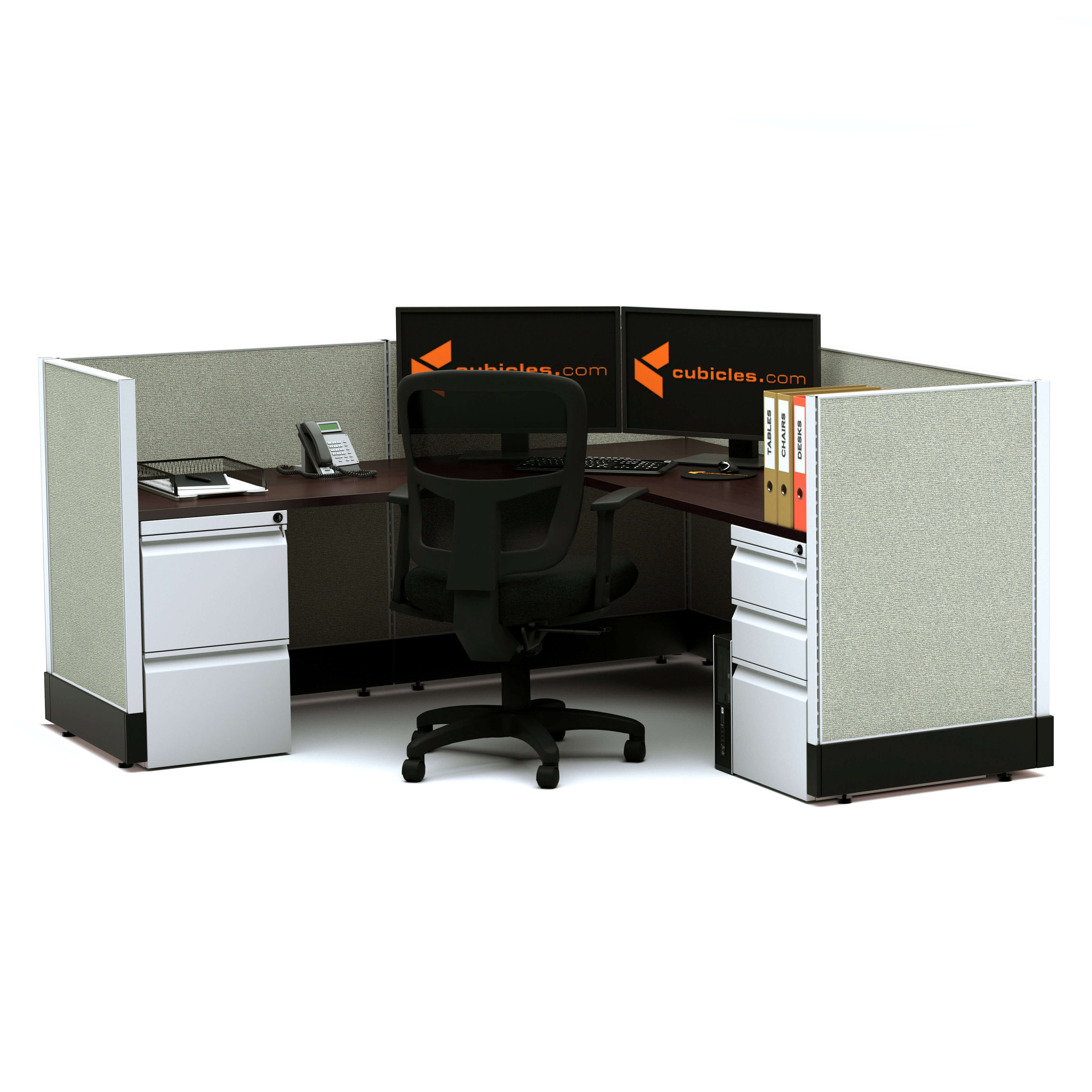 Modular office furniture system furniture 39 powered