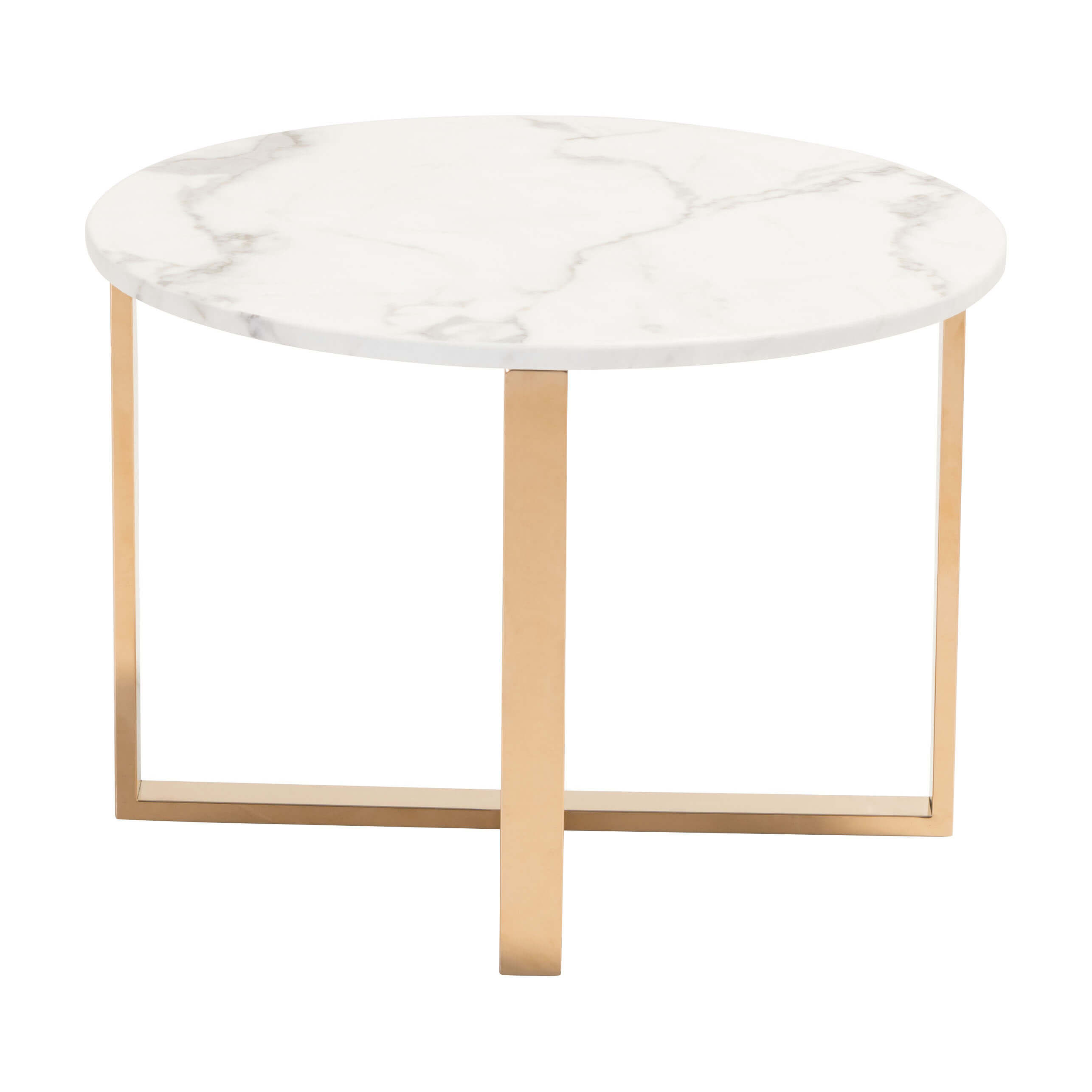 Occasional end tables low front view