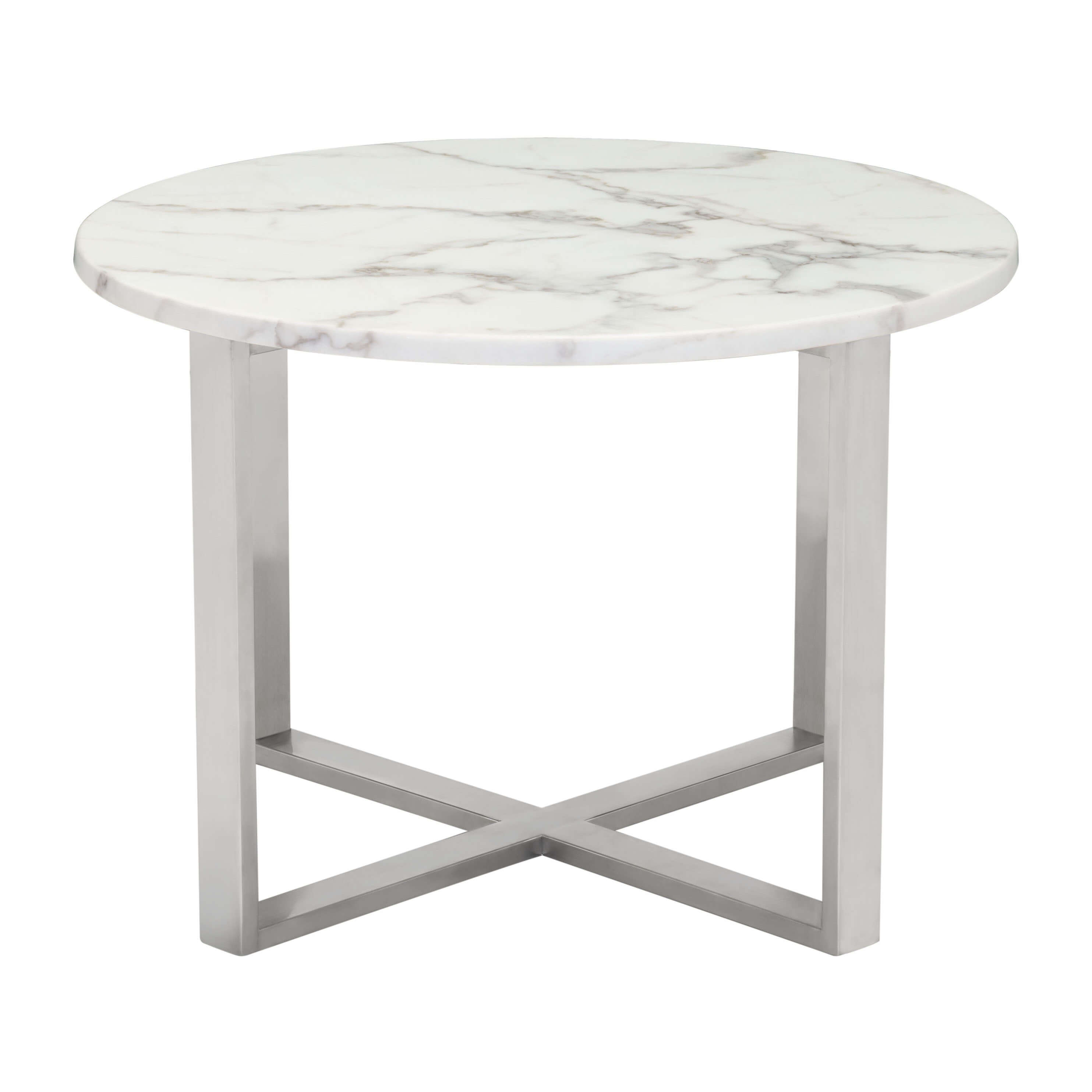 Occasional tables round front view 1 2