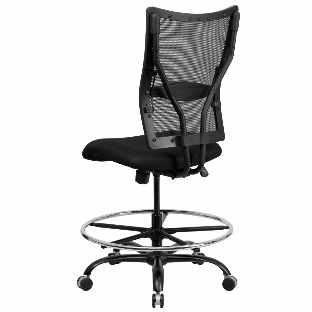 Office chairs for heavy weight rear view