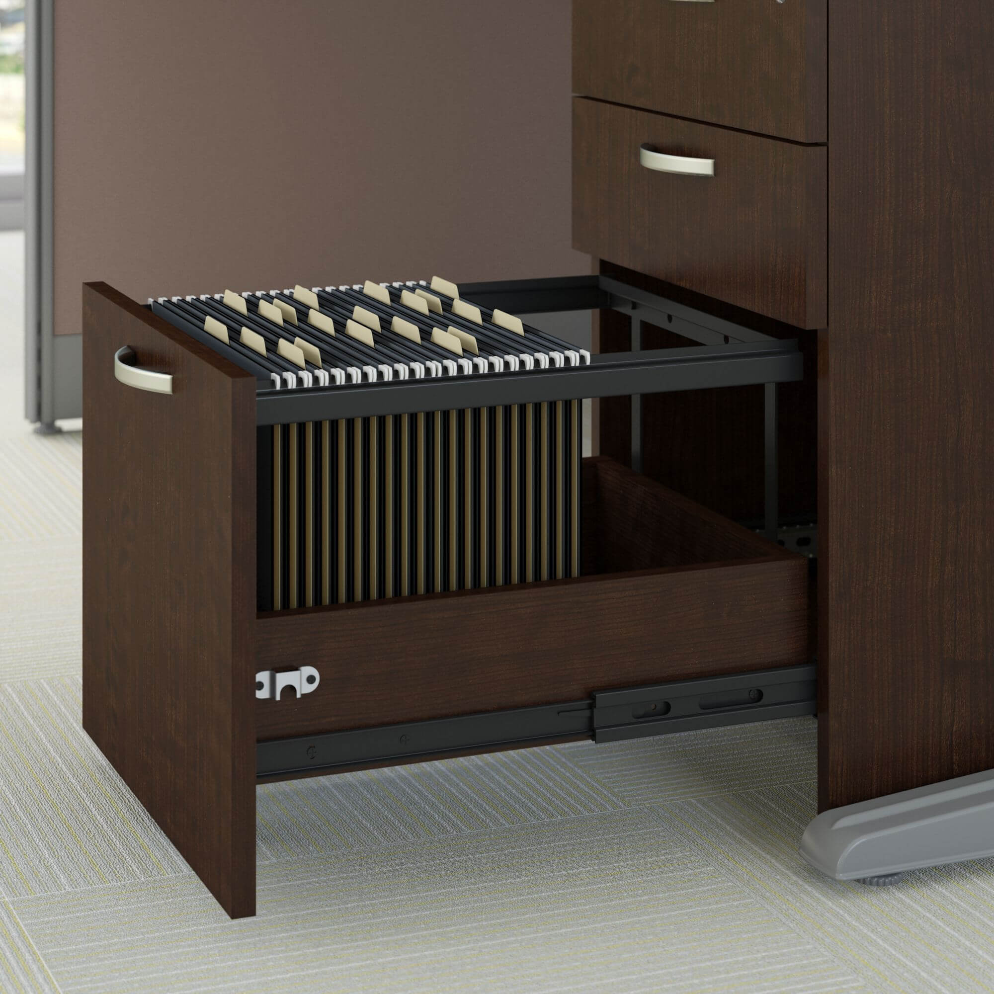 Office cubical storage drawer