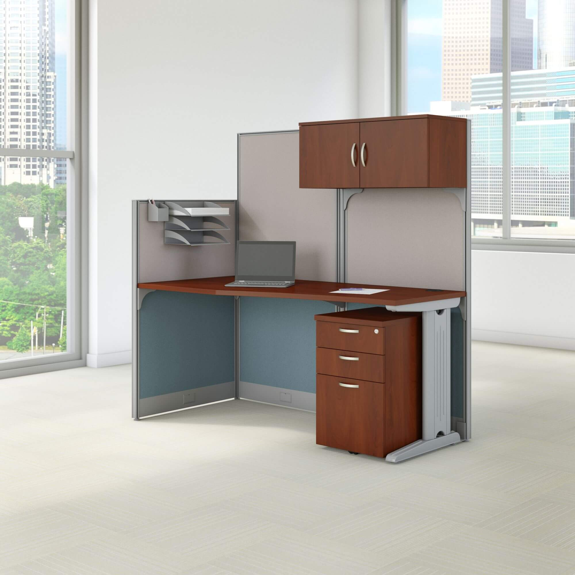 Office cubical storage environmental
