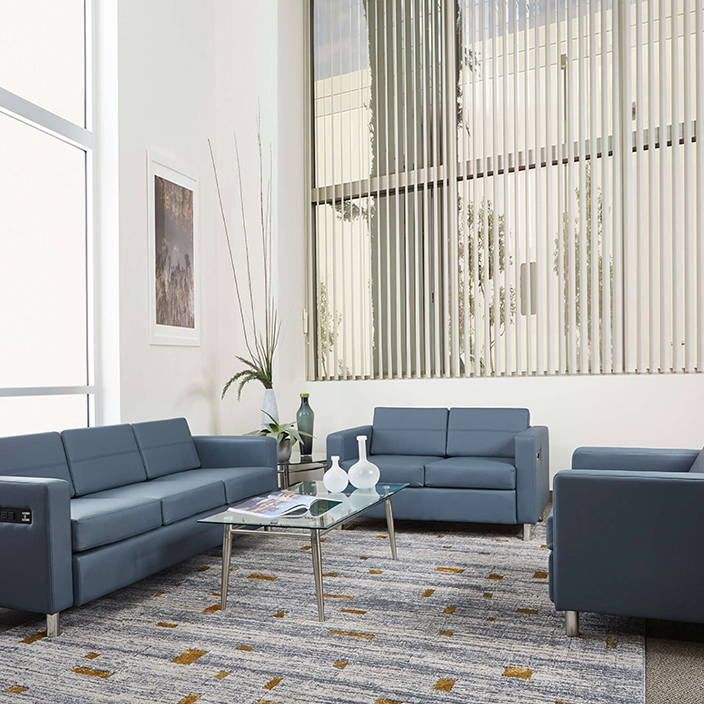 Office furniture loveseat environment