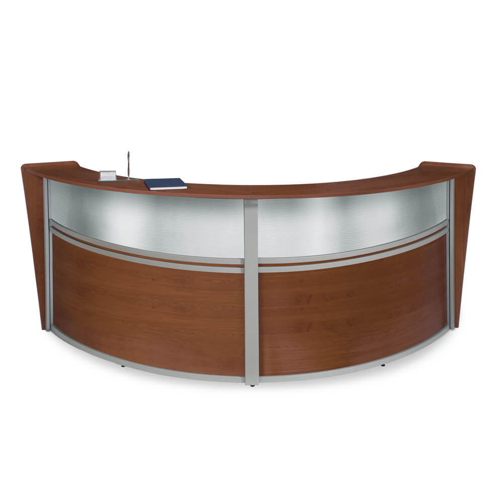 Arrive Curved Reception Counter