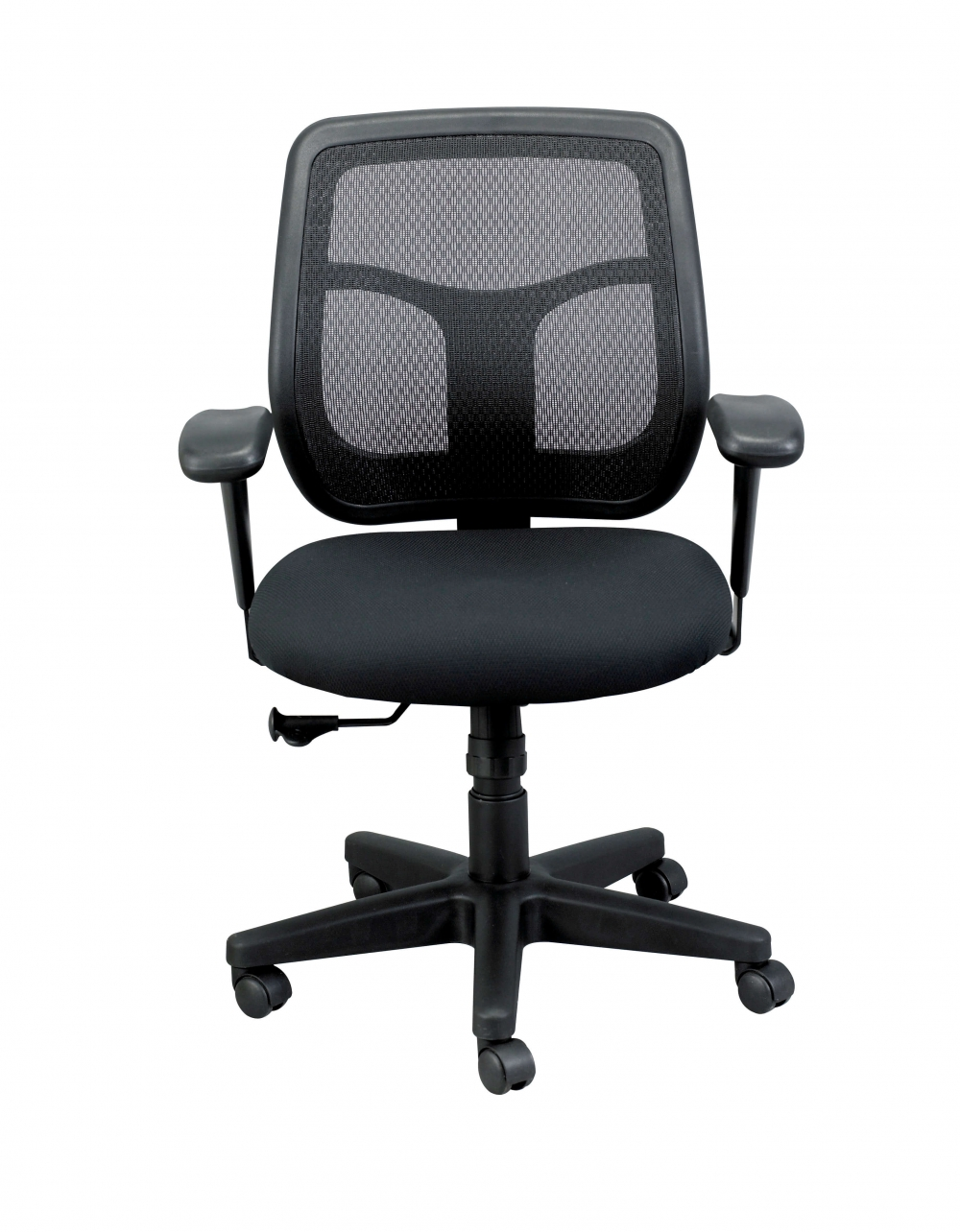 Office task chair front view
