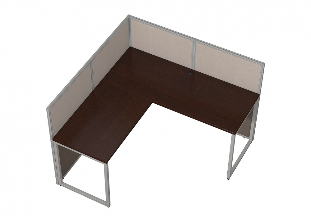 Office workstation desk Electric Office Workstation Desk Aerial 60x60 Lshaped Office Workstation Desk