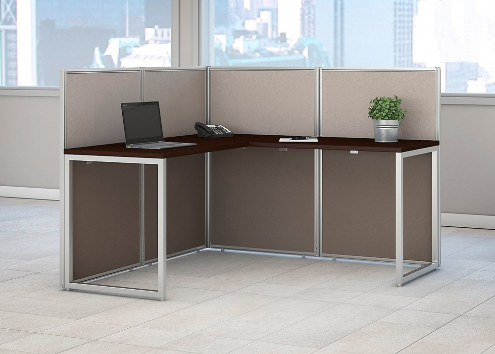 Office workstation desk environmental