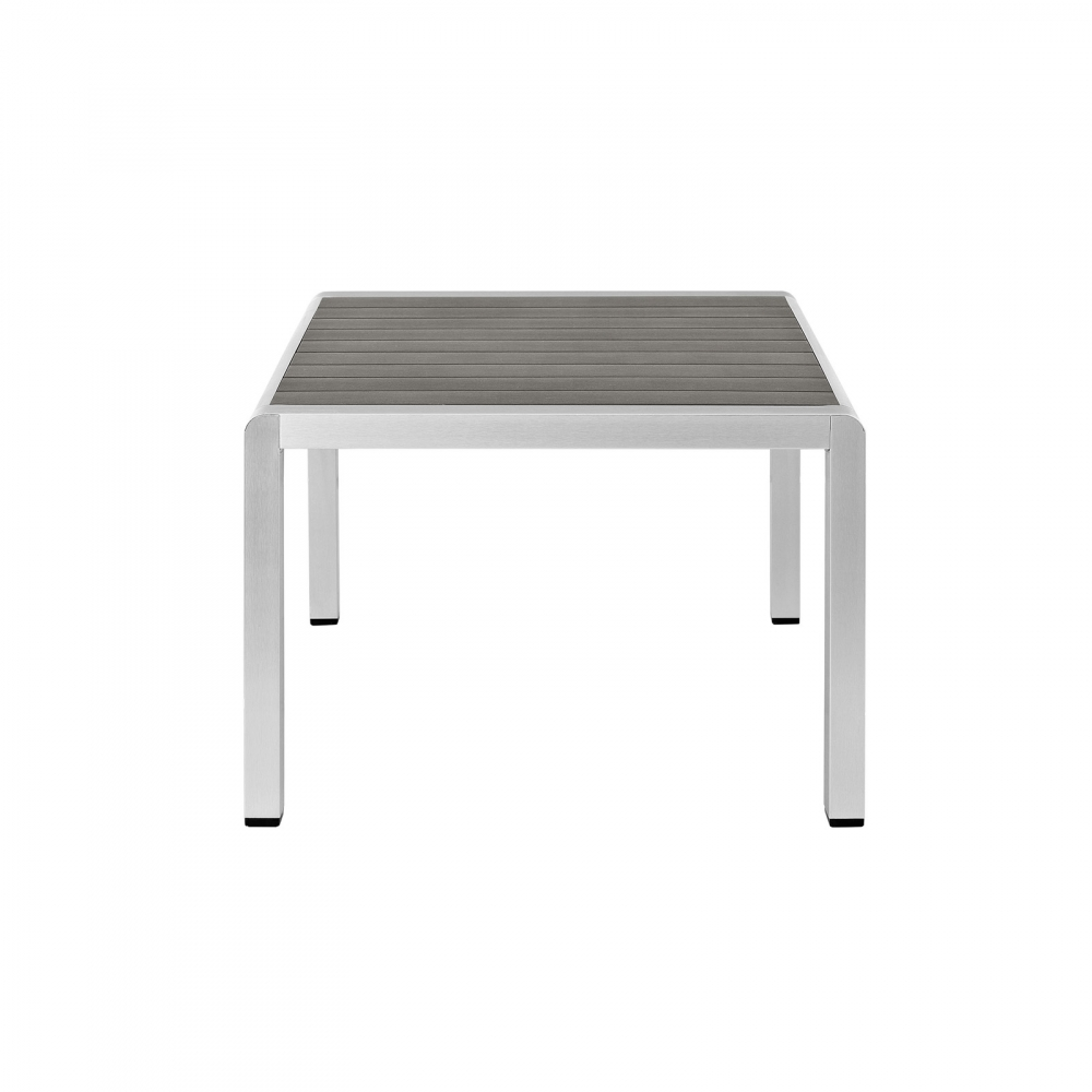 Outdoor furniture table side view