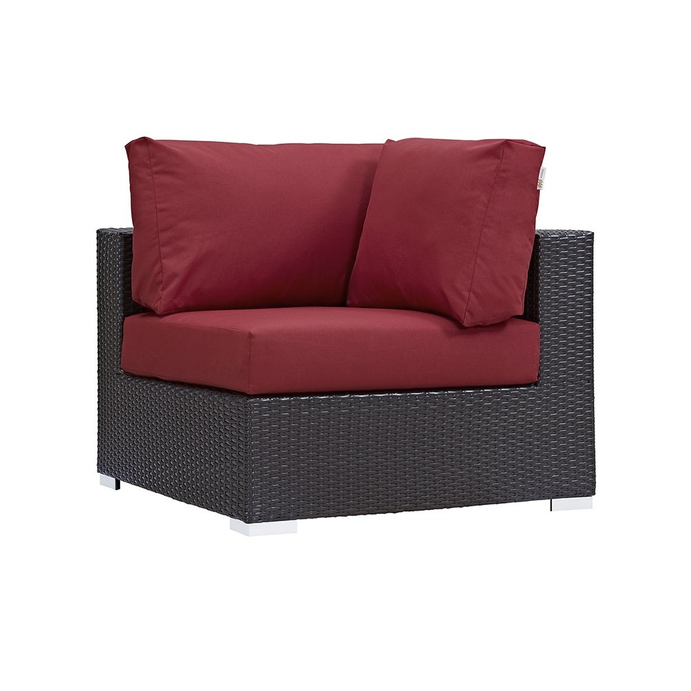 Outdoor lounge furniture CUB EEI 1840 EXP RED MOD