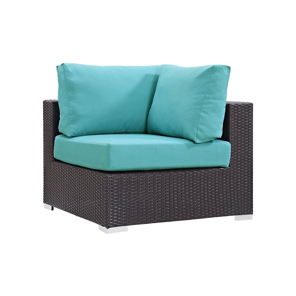 Outdoor lounge furniture CUB EEI 1840 EXP TRQ MOD