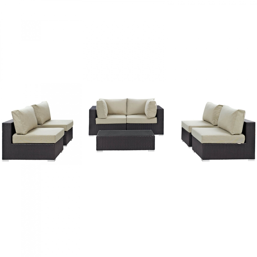 Outdoor lounge furniture CUB EEI 2164 EXP BEI SET MOD