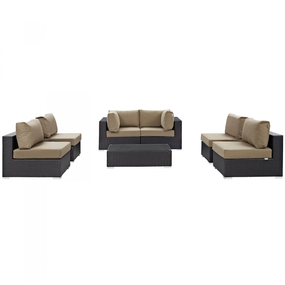 Outdoor lounge furniture CUB EEI 2164 EXP MOC SET MOD