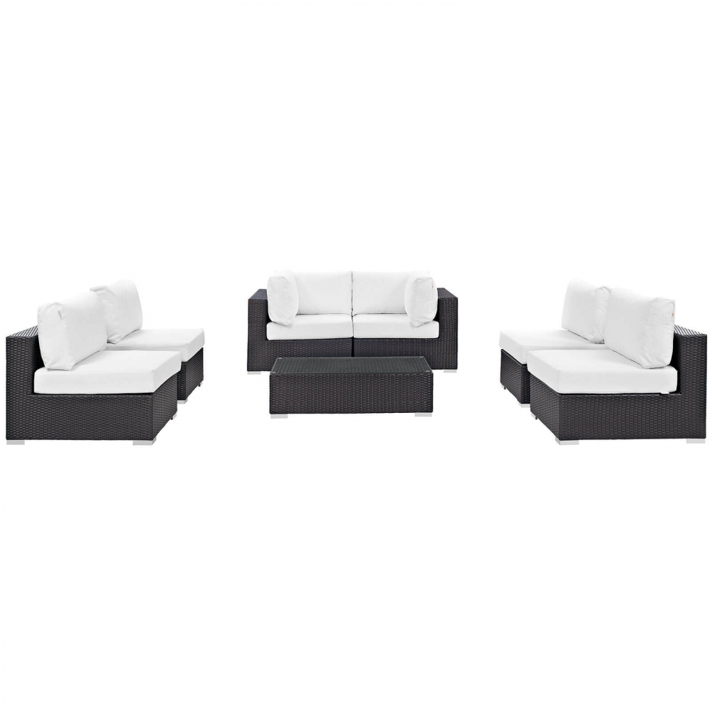 Outdoor lounge furniture CUB EEI 2164 EXP WHI SET MOD
