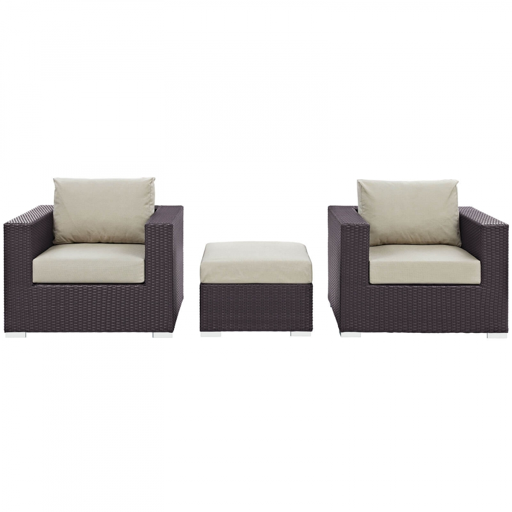 Outdoor lounge furniture CUB EEI 2174 EXP BEI SET MOD