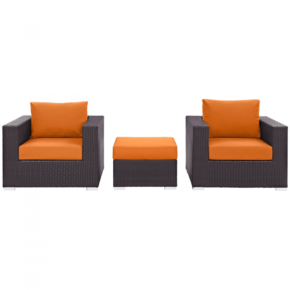 Outdoor lounge furniture CUB EEI 2174 EXP ORA SET MOD