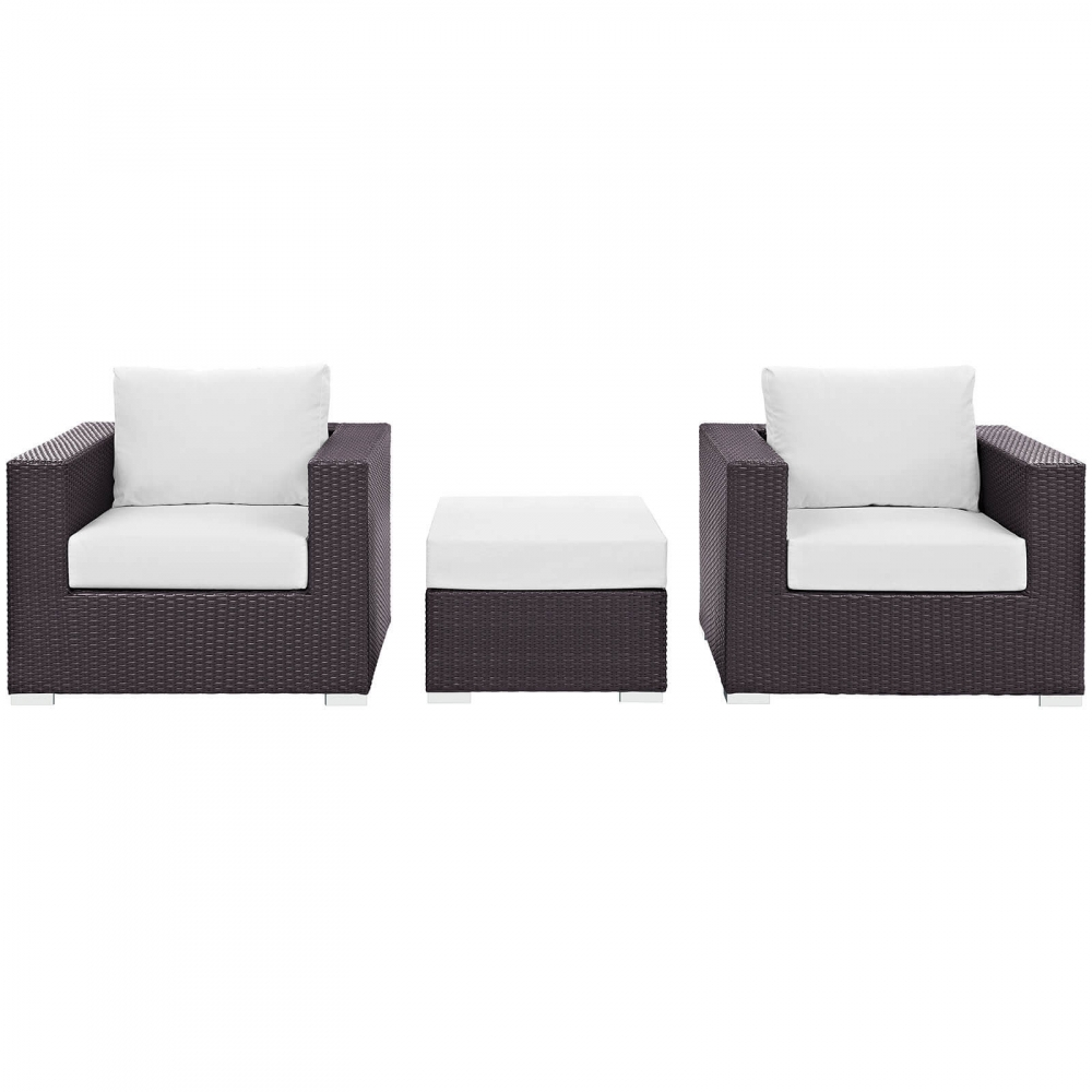 Outdoor lounge furniture CUB EEI 2174 EXP WHI SET MOD
