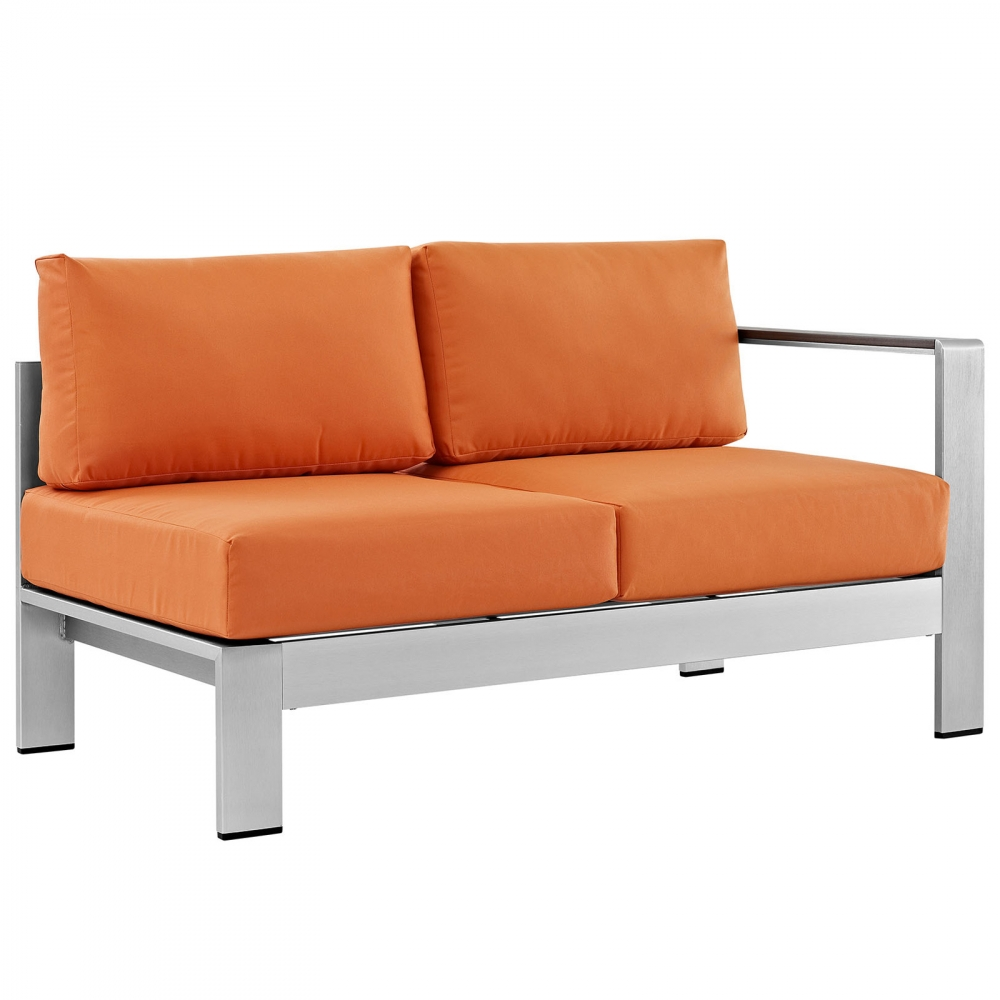 Outdoor lounge furniture CUB EEI 2262 SLV ORA MOD