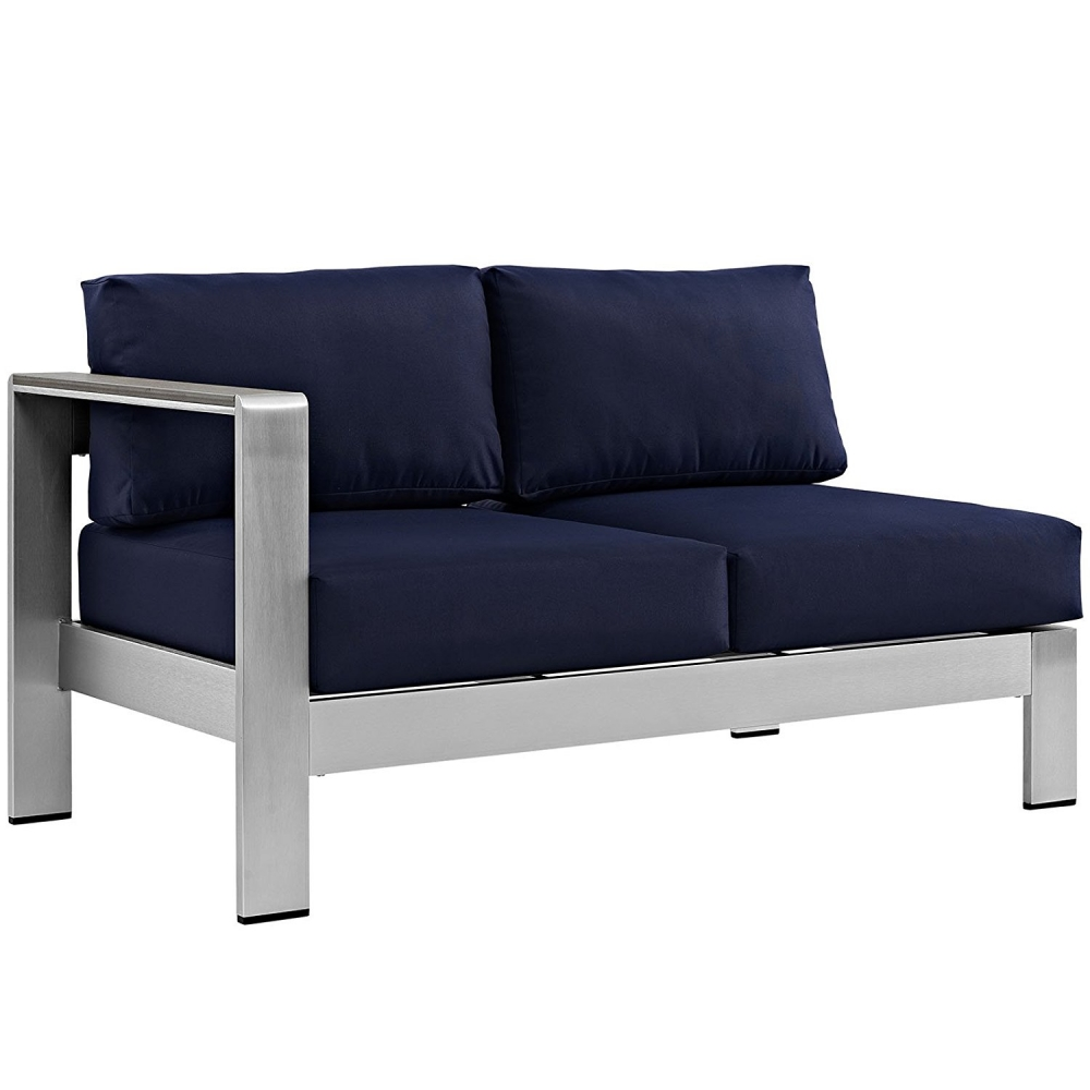 Outdoor lounge furniture CUB EEI 2265 SLV NAV MOD