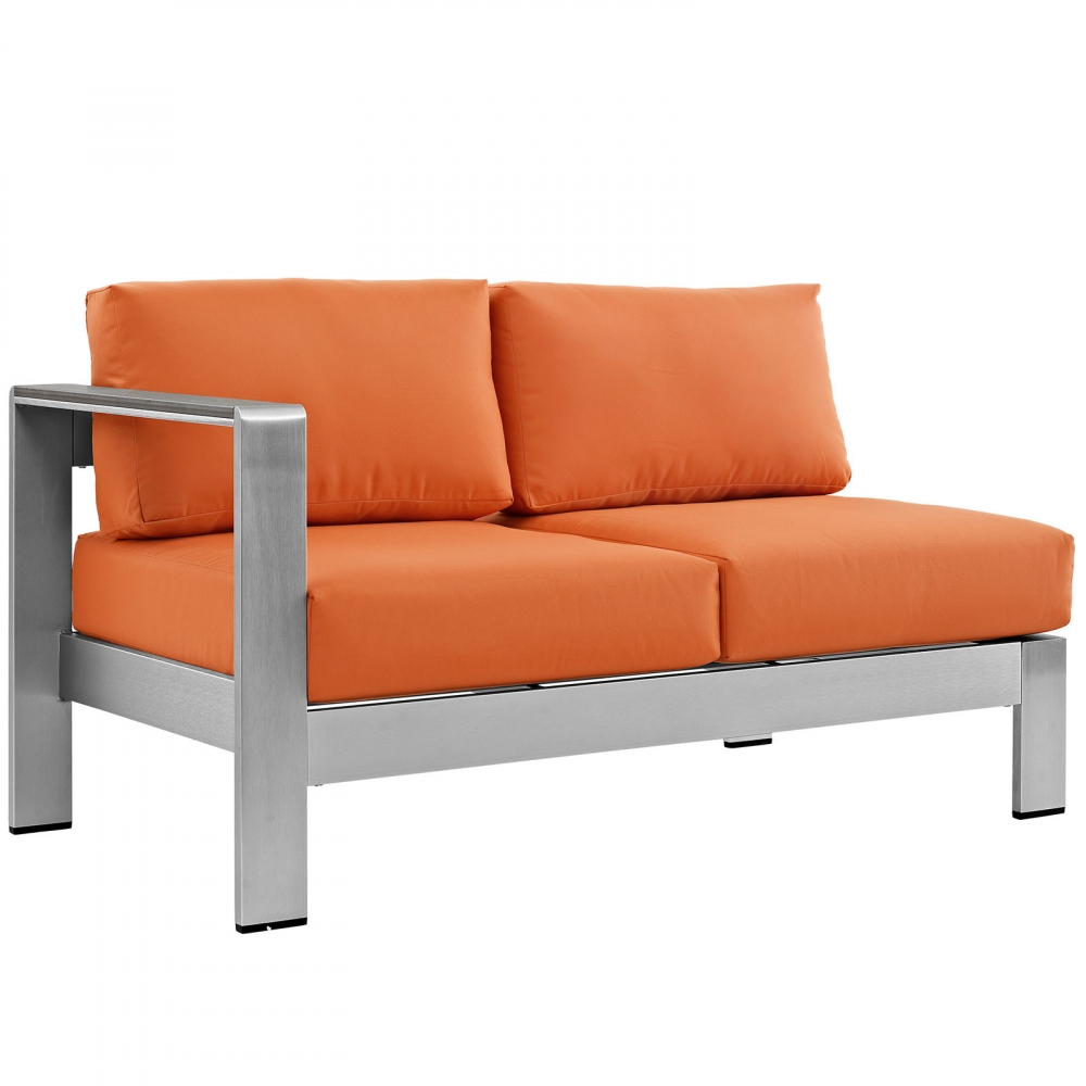 Outdoor lounge furniture CUB EEI 2265 SLV ORA MOD