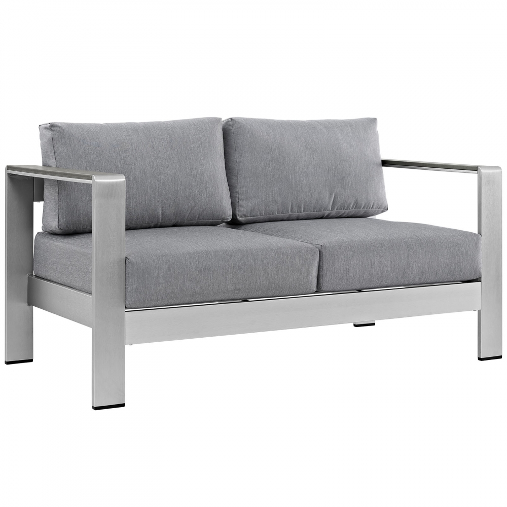 Outdoor lounge furniture CUB EEI 2267 SLV GRY MOD