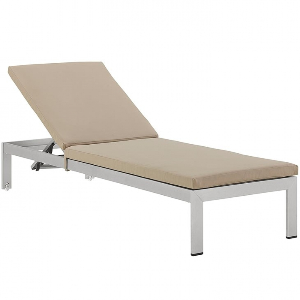 Outdoor lounge furniture CUB EEI 2660 SLV BEI MOD
