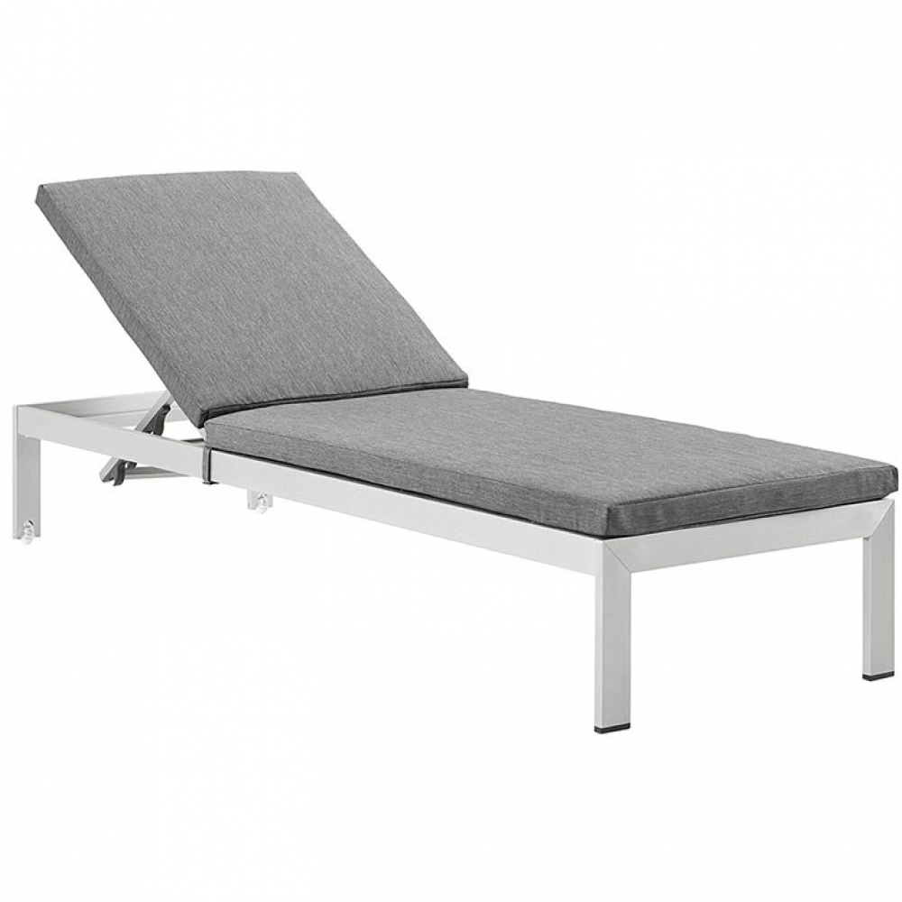 Outdoor lounge furniture CUB EEI 2660 SLV GRY MOD