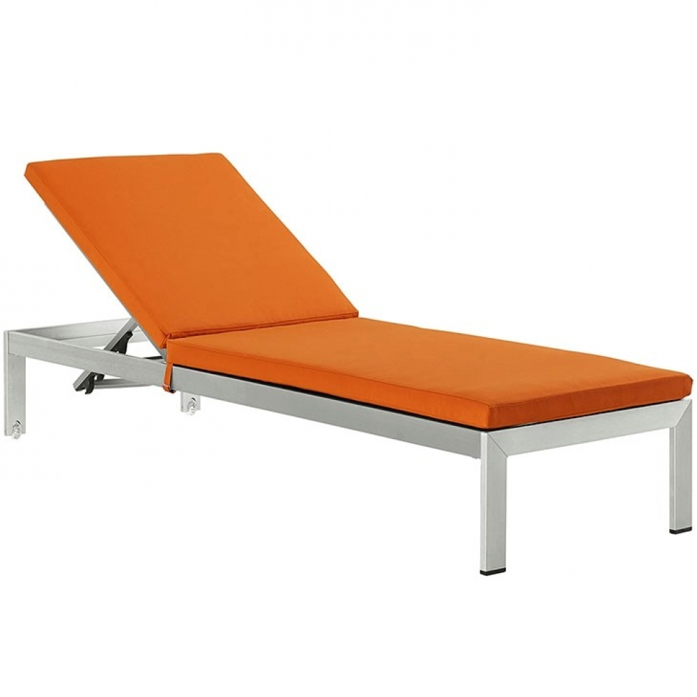 Outdoor lounge furniture CUB EEI 2660 SLV ORA MOD